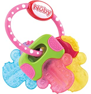 Nuby ID647 - Mordedor de gel animalitos: Amazon.es: Bebé
