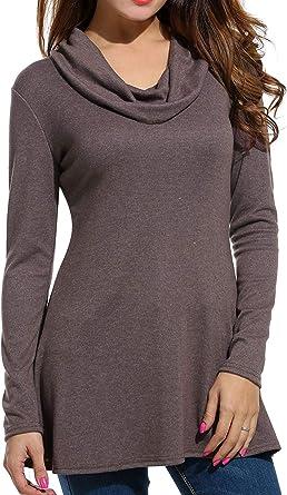Camisetas De Mujer Un Jersey De Cuello Camiseta De Redondo ...