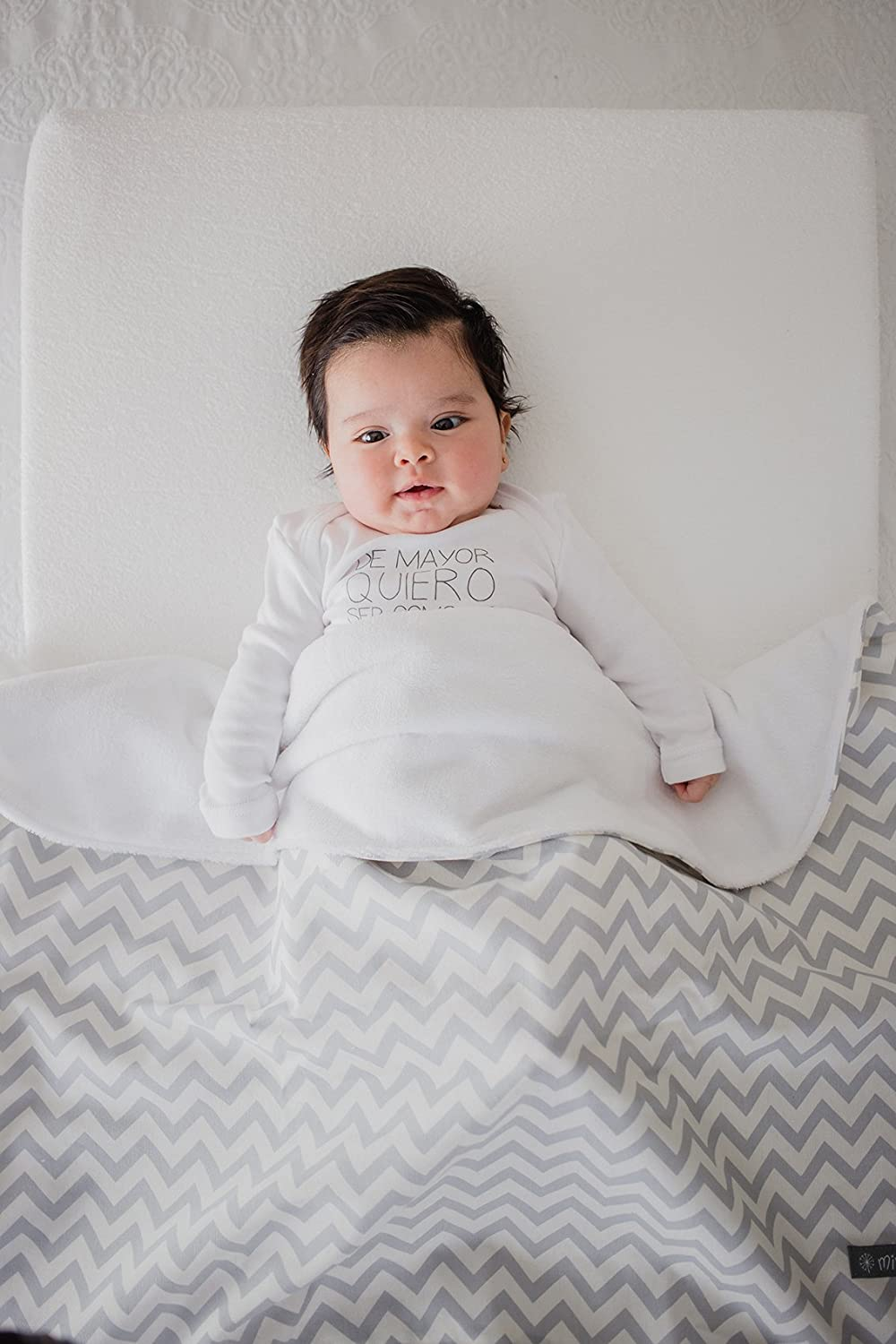 Mimuselina Removable Baby/'s Angled Wedge Pillow for Reflux and Colic