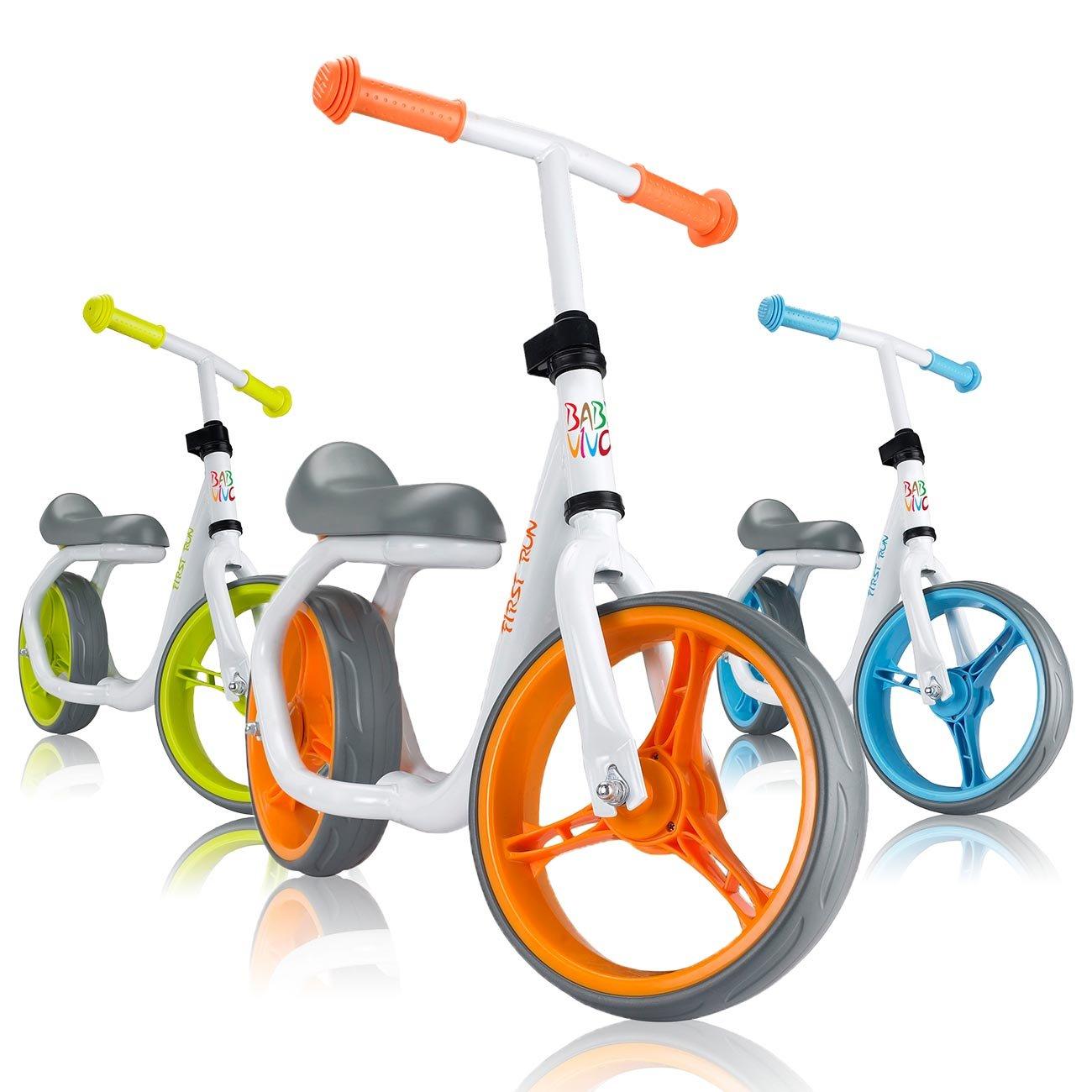 Baby Vivo Bicicleta de Equilibrio Bicicleta sin Pedales Niños Sillín Bici regulable