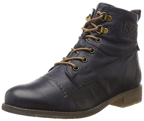 Josef Seibel Women's Sienna 17 Ankle Boots Blue Size: 3 UK