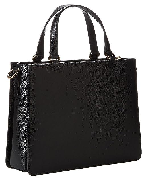 e54649fbae89 Amazon.com  Salvatore Ferragamo Women s Tracy Calfskin Leather Handle Bag (One  Size