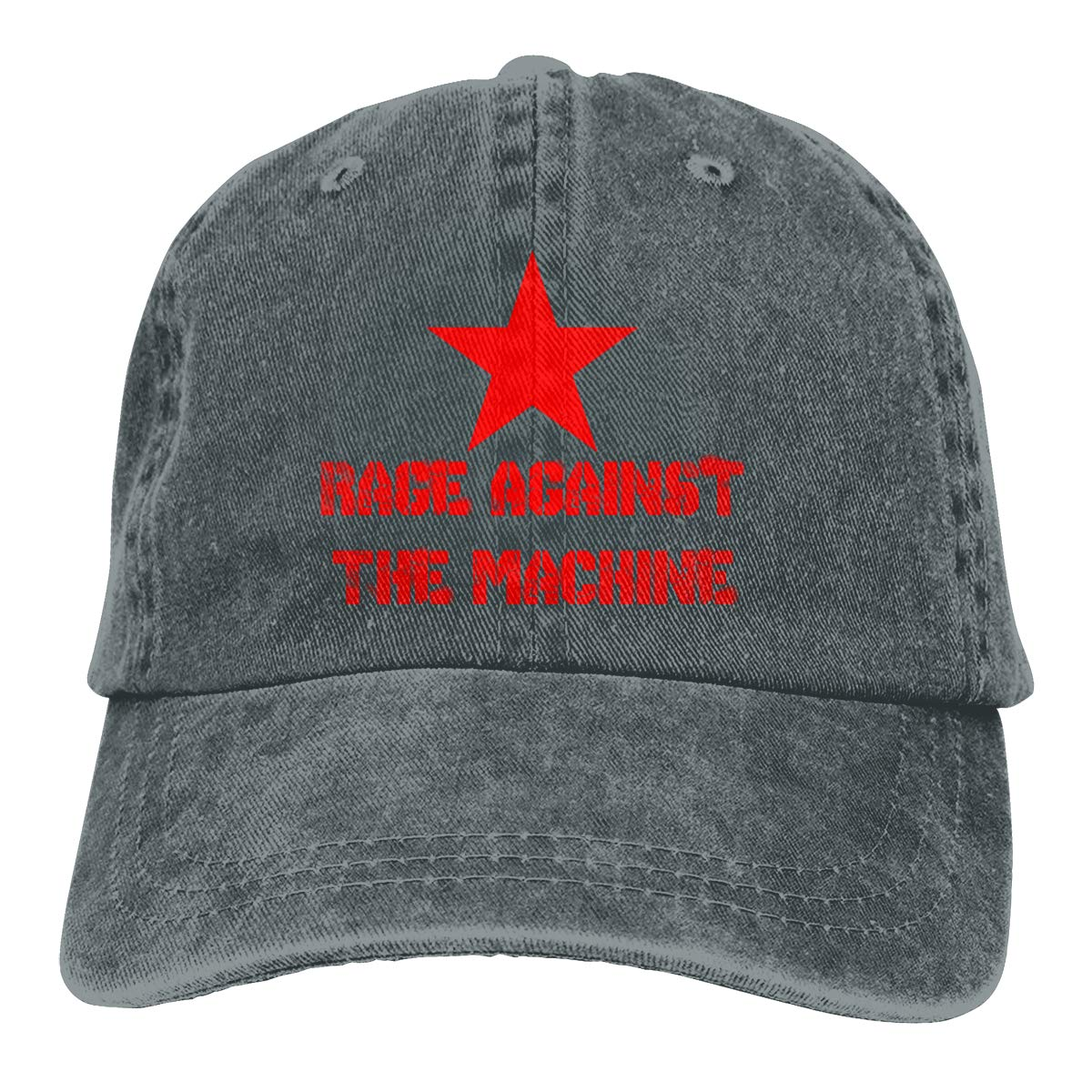Rage Against The Machine Anarchy Adjustable Dad Hat Denim Hat Baseball Cap  at Amazon Men s Clothing store  a2c7ef6428e