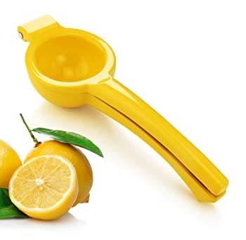New Star Enameled Aluminum Lemon Squeezer