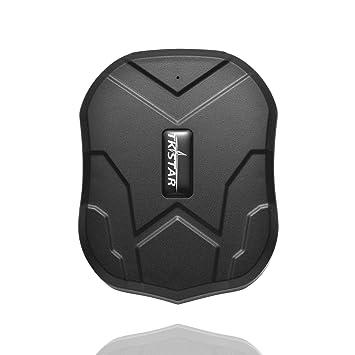 VISTANIA GPS Seguimiento Impermeable Tracker En Tiempo Real Seguimiento GPS Localizador Profesional Anti Perdida Alarma Tracker