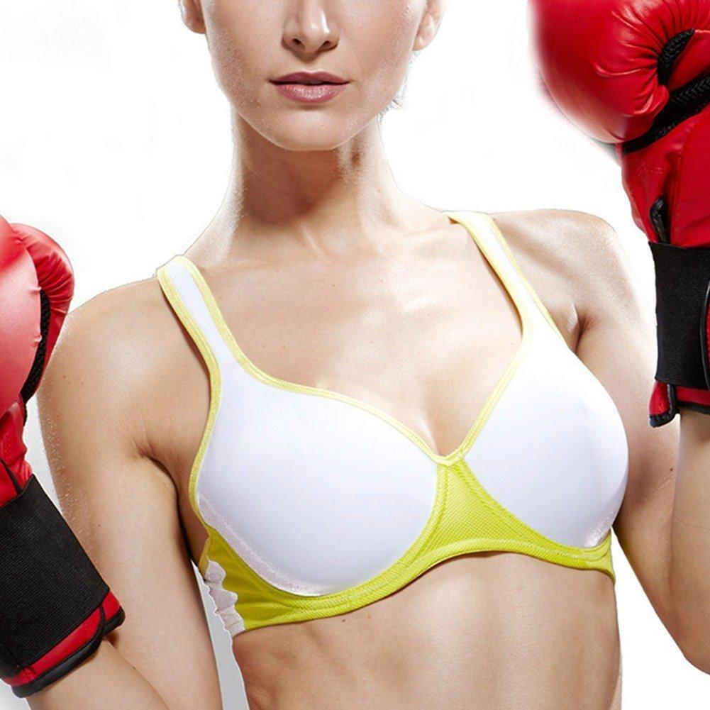 Underwire/Padded Sports Bra-Women/Racerback/Adjustable/Sexy Sports Bra by Generic