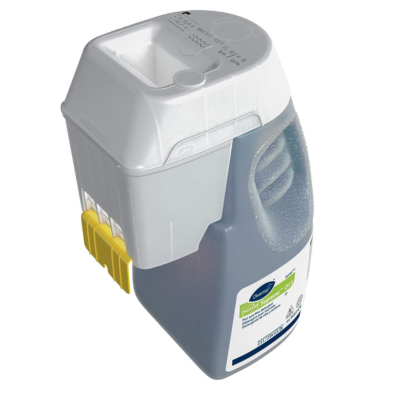 Diversey Suma 94977476 Supreme Optifill Pot and Pan Detergent, D1.5, 1 x 84.5 oz./2.5 L