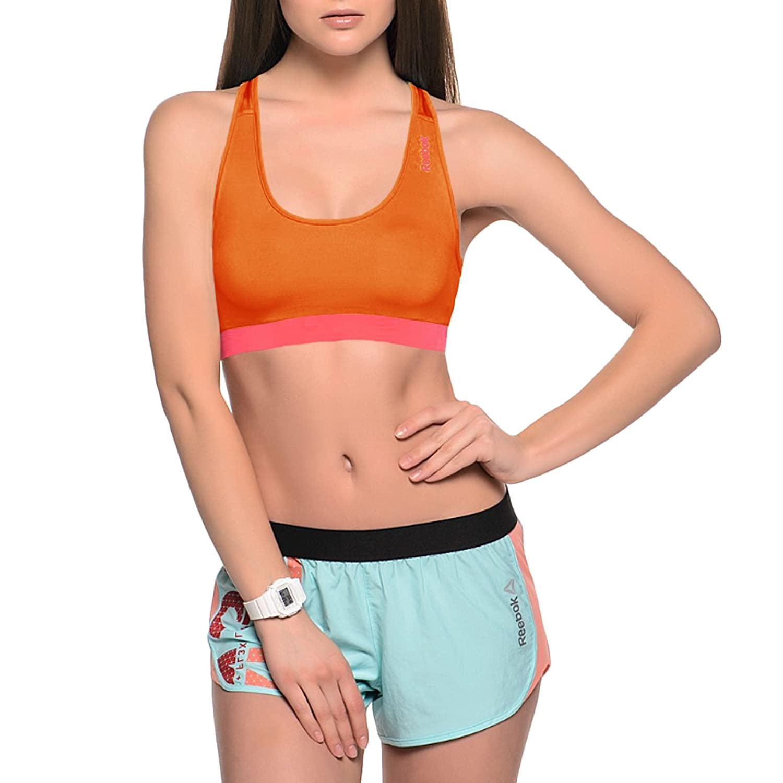 Reebok PlayDry - Sujetador deportivo Mujer - Running Gimnasio Fitness Sin mangas