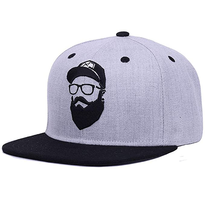 Original Grey Cool Hip hop Cap Men Women Hats Vintage Embroidery Character Baseball caps Gorras Planas Bone at Amazon Womens Clothing store: