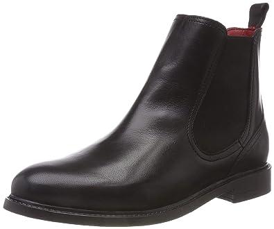 badf82a666db Buffalo Damen Ambrosia ALFA-D Leather Stiefeletten, Schwarz (Black 01 00),