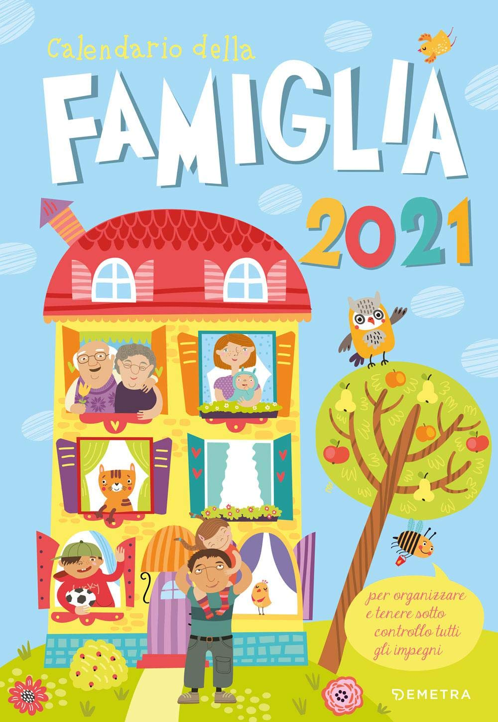 Amazon.it: Calendario della famiglia 2021     Libri