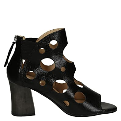 Damen 2162Tmoro Braun Leder Stiefeletten Leonardo Shoes aFp9wVf