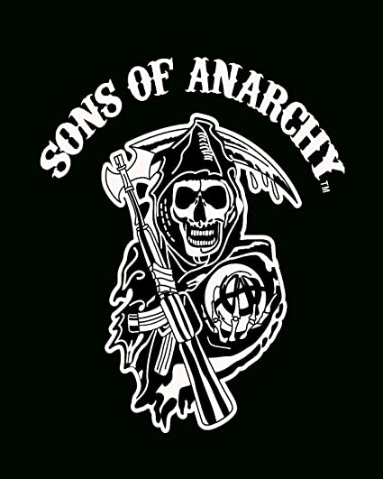 Amazoncom Sofantex Sons Of Anarchy Reaper Luxury Plush Throw