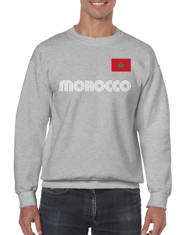 Apparel Morocco Soccer Crewneck Sweater Shirts