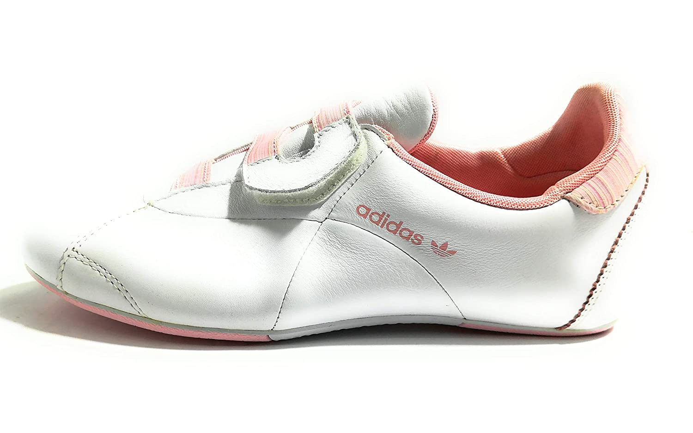 adidas LACOURT CF W 660438 White Pink Bianco Rosa Donna