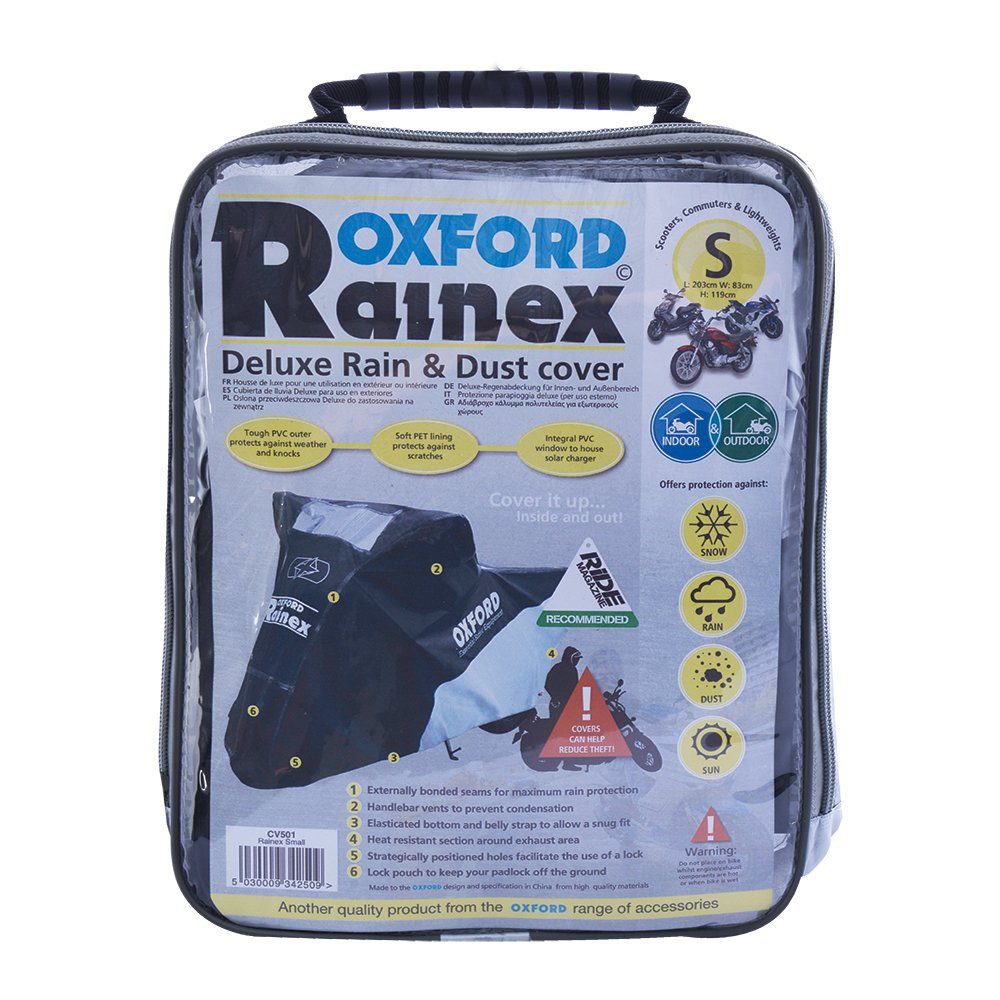 Oxford Rainex Motorbike Motorcycle Scooter Cover CV501 Small