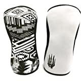 Bear KompleX Compression Knee Sleeves, Fitness & Support for Workouts & Running. Sold in Pairs-Crossfit Training, Weightlifti