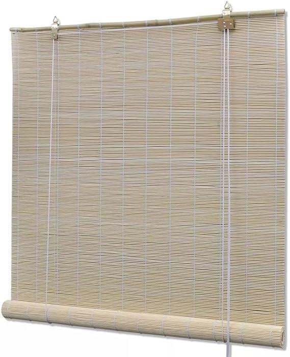 Tapparella Avvolgibile bamb/ù Marrone 100 x 160 cm Tenda Bamboo Festnight Tende a Rullo