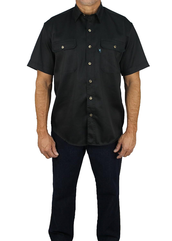 Kolossus SHIRT メンズ B07BK9433V Large|ブラック ブラック Large