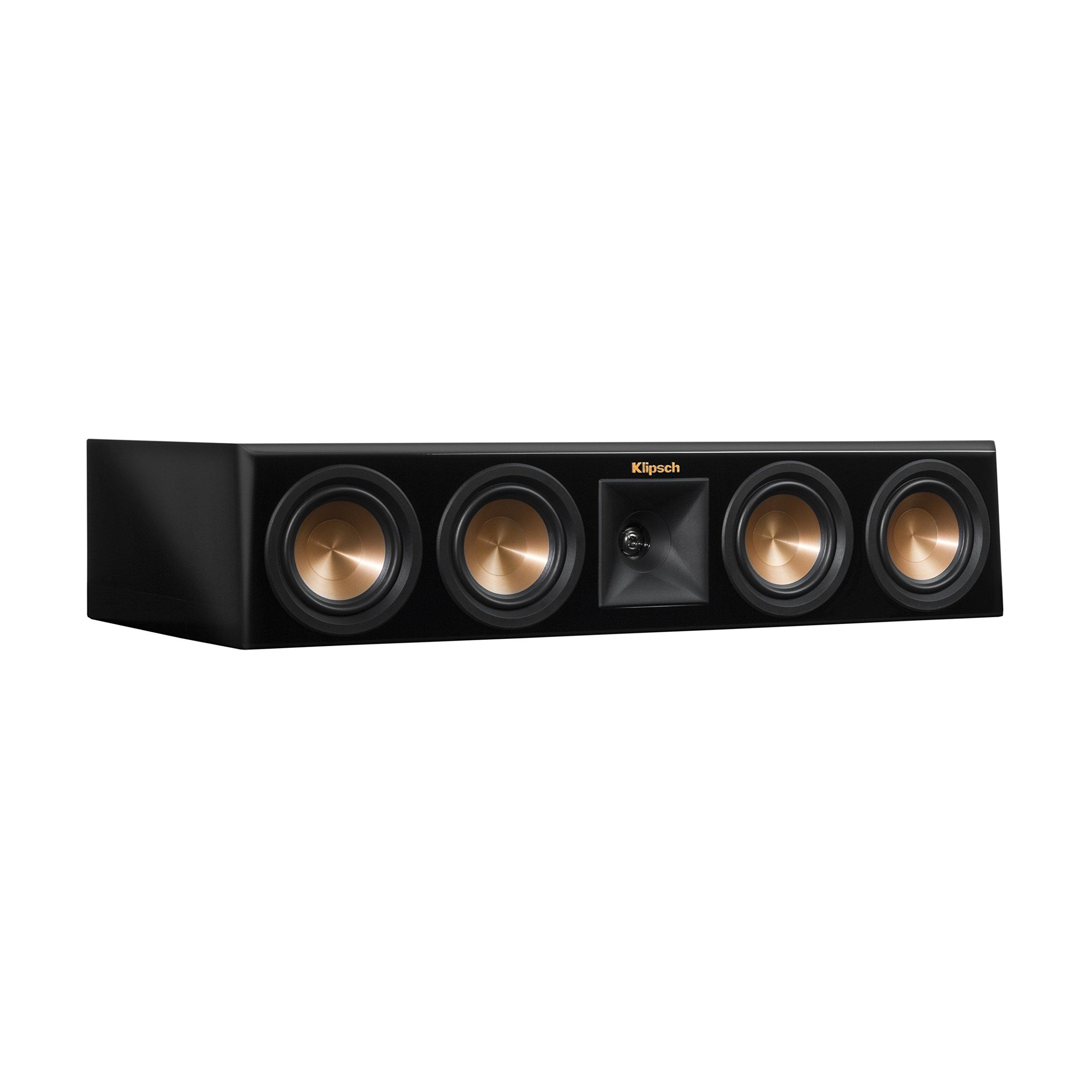Klipsch RP-440C Piano Black Center Channel Speaker by Klipsch