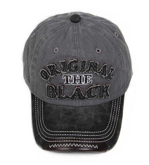 LANTINA Women s Adjustable Baseball Cap Distressed Hat with Ponytail Hole  Hip Hop Style Flexfit Summer UV dbb76bb45ea