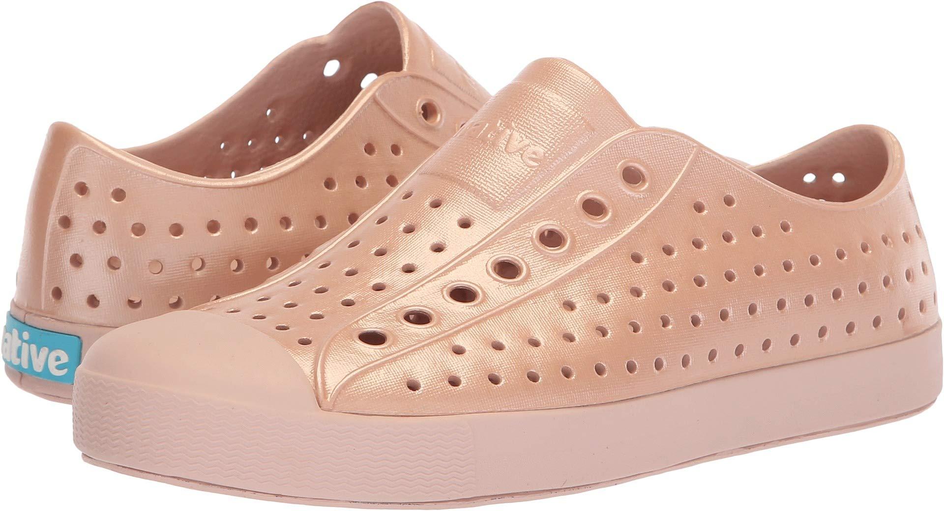 Native Shoes Unisex Jefferson Chameleon Metallic/Chameleon Pink 5 Women / 3 Men M US