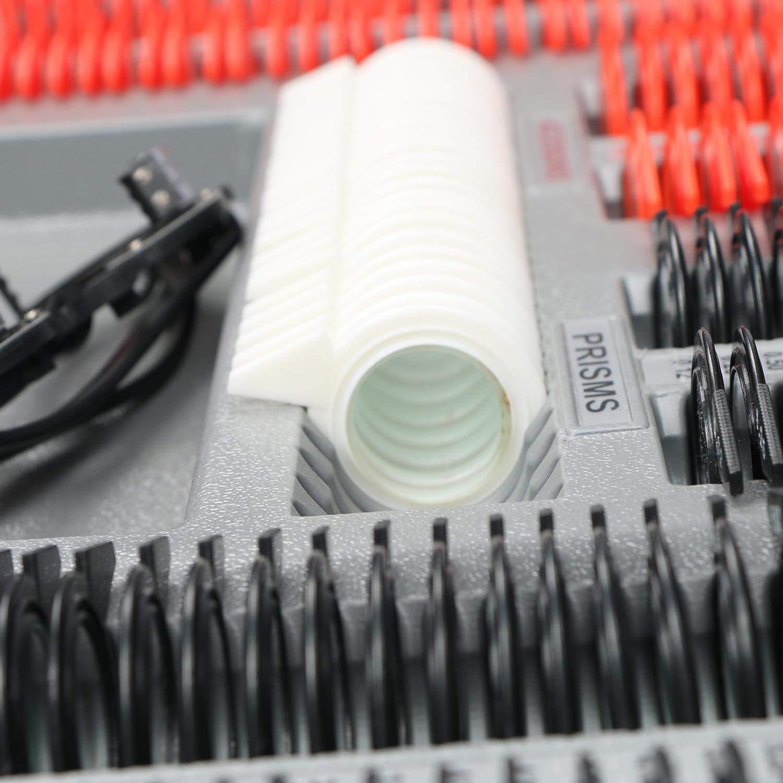 Free Trial Frame 266 pcs Optical Trial Lens Set Plastic Rim Aluminium Case