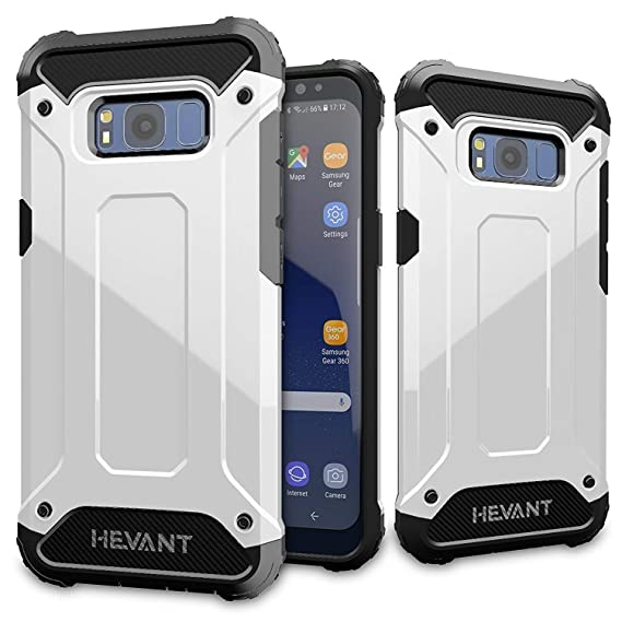innovative design 09baa 28789 Galaxy s8 Plus case,Rugged Tough Armor Case for Samsung Galaxy s8 Plus,Anti  Shock case for Galaxy s8 Plus-White