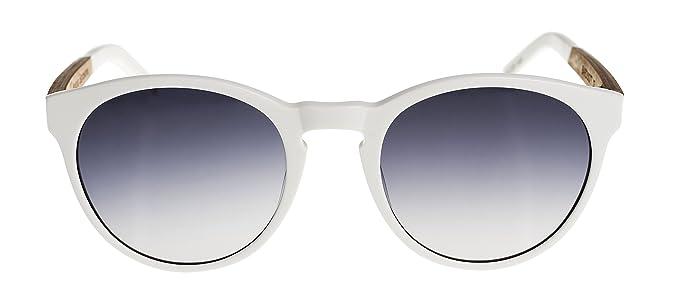 WOODYS Bardot 07 - gafas de sol, unisex, blanco, talla 50-20 ...
