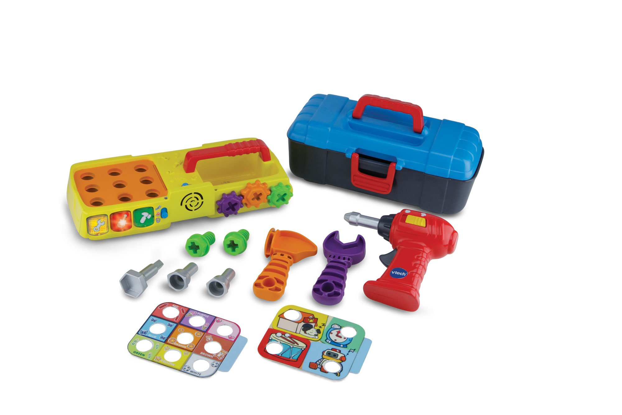 Vtech My 1St Toolbox Educational Musical Toy Game Multi Coloured