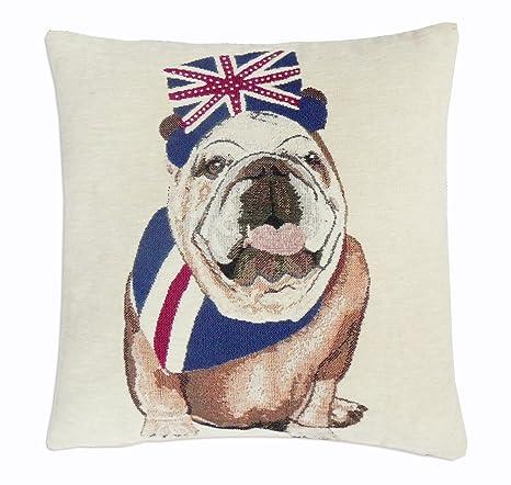 EHC Royal Bull Perro Decorativo sofá Cama Funda para cojín Funda de Almohada