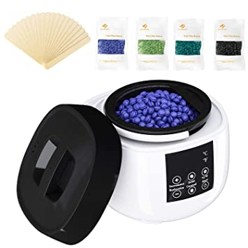 Amazon Com Pebst Waxing Kit High End Digital Wax Warmer For Hair