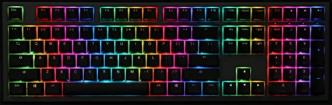 Ducky Shine 7 keyboard