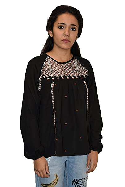 Pepe Jeans Blusa Stelle Mujer - Color Negro (M)