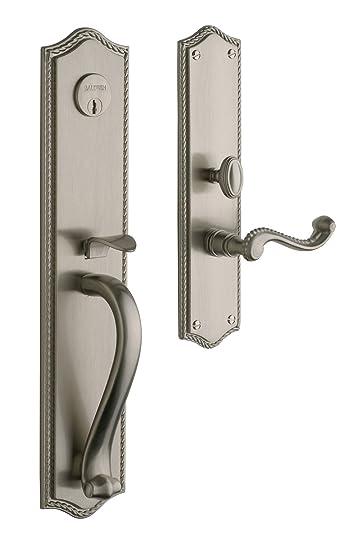 Baldwin Hardware 6963.150.RENT Bristol Set Trim Front Door Handle