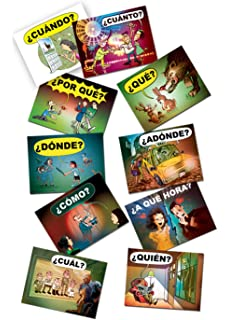 QuestionWords Posters (Spanish Edition)