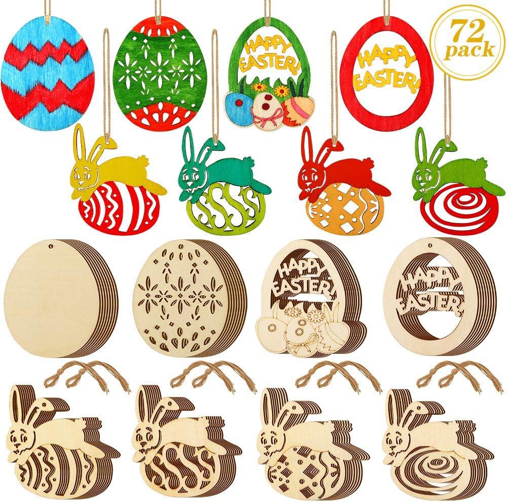 8 Pack Easter Felt Embellishments Scrapbooking Cardmaking Easter Decoration Gift