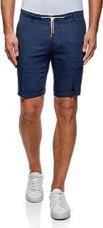 oodji Ultra Uomo Shorts in Lino con Laccetti RIFICZECH s.r.o. 2L600007M