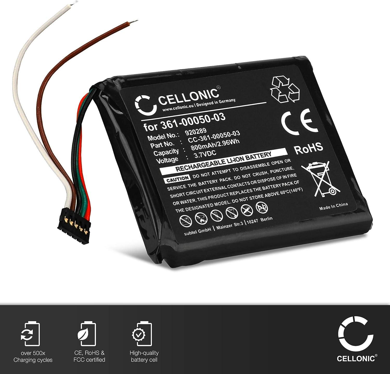 CELLONIC® Batería Premium Compatible con Garmin Edge 510 (800mAh) 361-00050-03,361-00050-10 bateria de Repuesto, Pila reemplazo, sustitución: Amazon.es: Electrónica