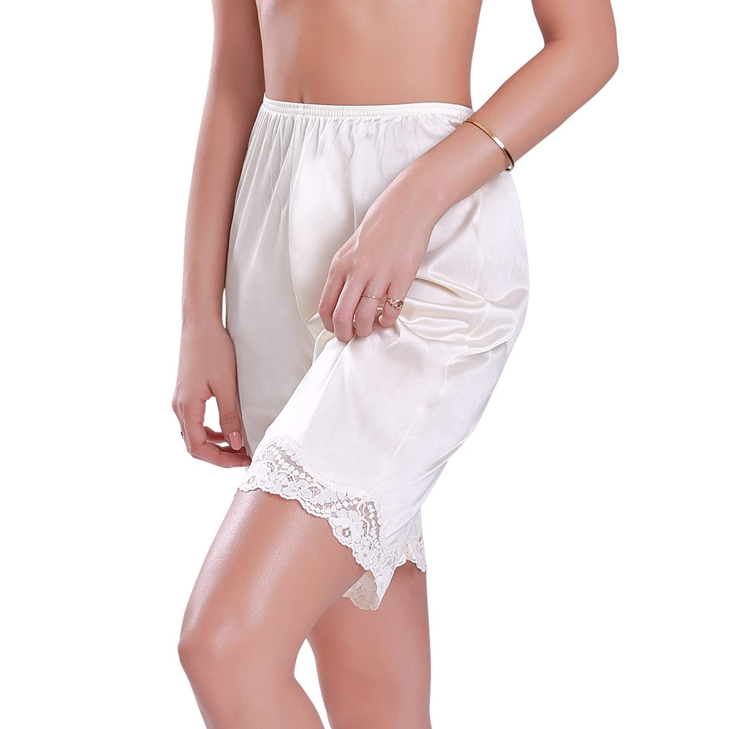 1920s Lingerie History- Slips, Steps Ins, Robes, Night Gowns and Bed Caps Womens Slip Shorts $11.99 AT vintagedancer.com