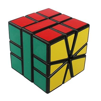 amazon com soto6ro square 3x3x3 speed cube puzzle black toys games