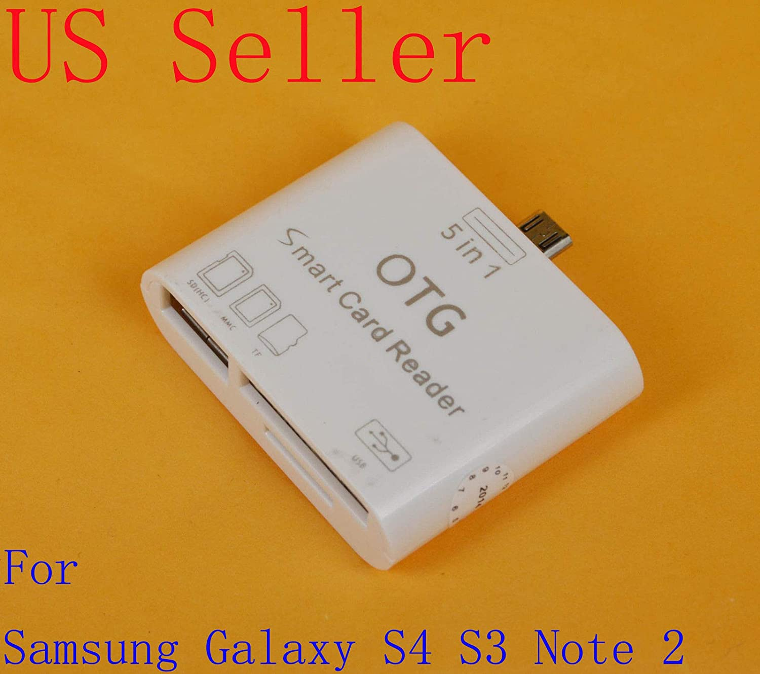 yan 5 in 1 USB Card Reader OTG Connection Kit Adapter for Samsung Galaxy Note 2 S4