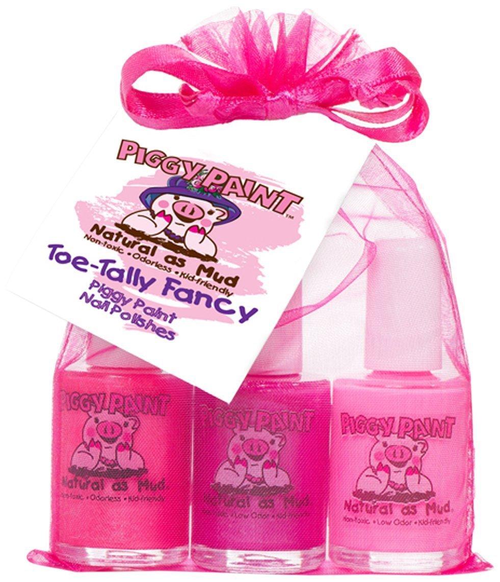 Amazon.com : Piggy Paint Gift Set, Toe-Tally Fancy : Non Toxic Nail ...