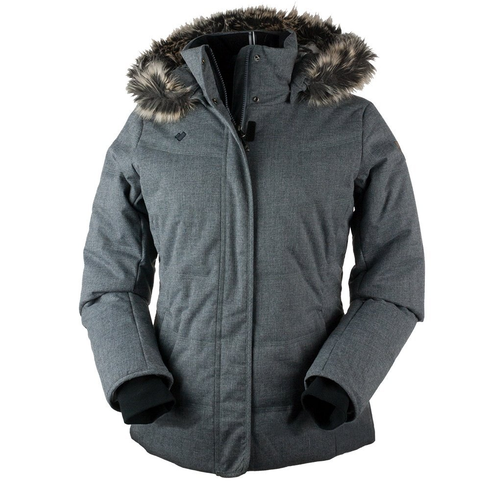 Obermeyer Women's Tuscany Parka Charcoal 12 by Obermeyer (Image #1)