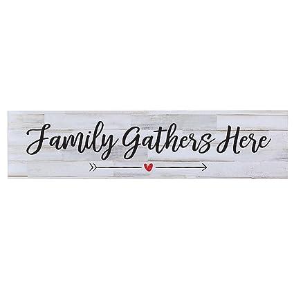 Amazon Com Lifesong Milestones Family S Gather Here Wall