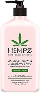 product image for Hempz Blushing Grapefruit & Raspberry Creme Herbal Body Moisturizer 17.0 oz | ⭐️ Exclusive