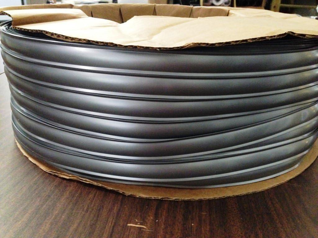 35 FT Vinyl Insert Molding Trim Screw Cover RV Boat Camper 3//4 Black