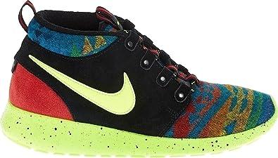 online retailer 825dd b64b0 Nike Roshe One Mid Winter Pendleton Kids (Grade School) Shoe (4Y, Multi