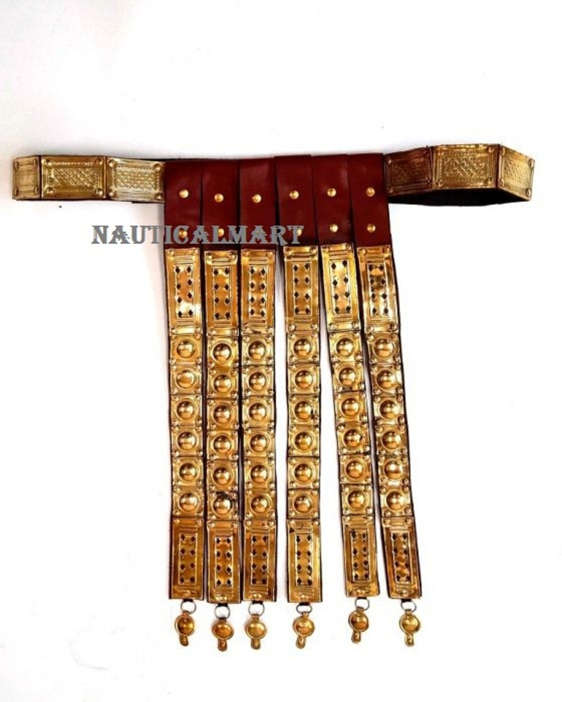 Roman Faux Leather Belt