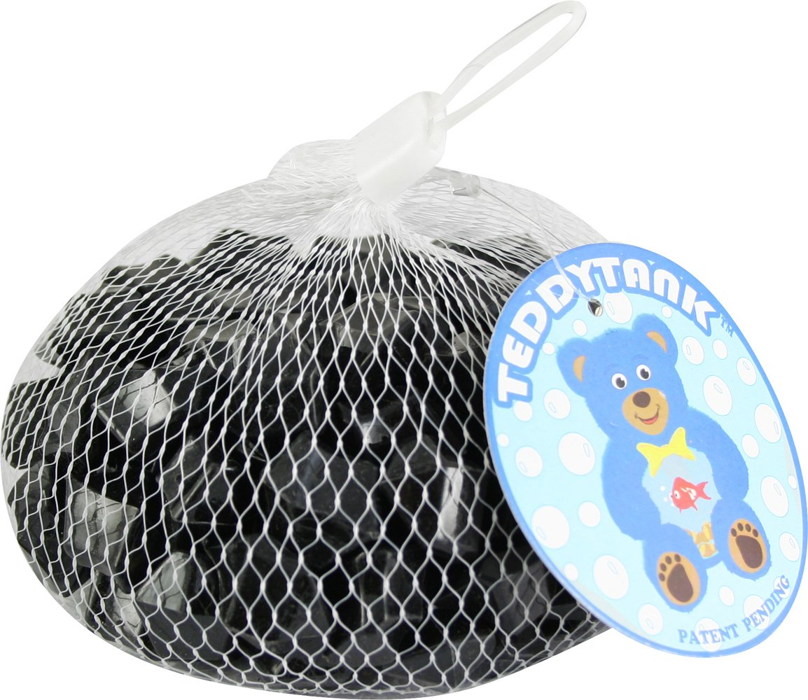 Teddy Tank Toy Accessories with Black Acrylic Diamond Shaped Stones, 8.8-Ounce